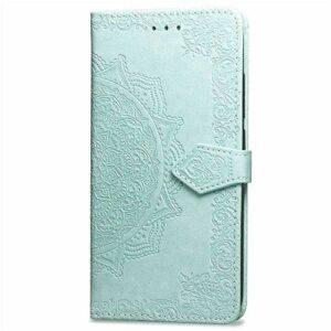 Bravoday Coque pour Samsung Galaxy S7, Protection Étui Housse PU Cuir Portefeuille Bookstyle pour Galaxy S7, avec Carte Slot et Stand Support, Vert