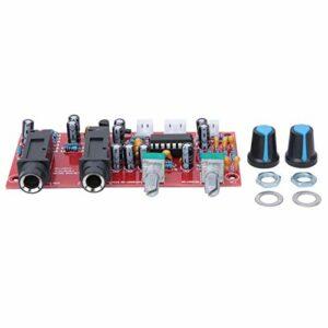 Carte d'amplificateur de Microphone carte de réverbération d'amplificateur numérique théâtre réglable en continu pour le cinéma maison