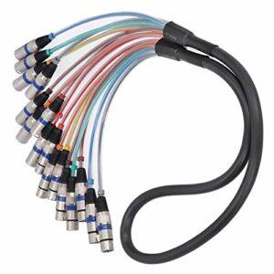 Connecteur de cordon audio d'extension pratique pour ligne multi-signaux pour les femmes(blue, 1.5 fans)
