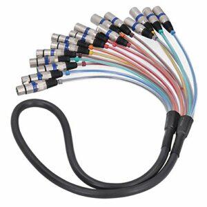 Connecteur efficace de cordon audio d'extension de ligne multi-signaux pratique pour les femmes(blue, 1.5 fans)