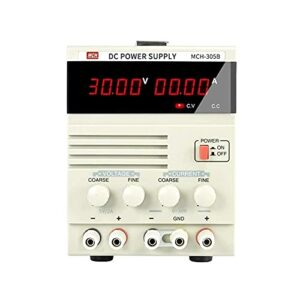 Équipement pour la maison Instrument de mesure Transformateur de puissance linéaire à affichage à quatre chiffres MCH-305B 30V 5A Alimentation CC réglable Instrument de haute précision pour laborat