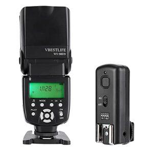 Flash Esclave d'appareil Photo Durable 100 m Transmission Rapide Modes de Flash Multiples Flash d'appareil Photo Appareil Photo Speedlite, appareils Photo Reflex numériques, Appareil Photo
