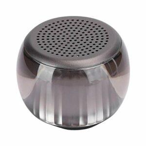 FOLOSAFENAR Haut-Parleur de Grande capacité Haut-Parleur Audio léger coloré portatif sans Fil, avec câble d'alimentation