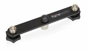 Gator Frameworks GFWMIC1TO2 – barre de couplage stéréo pour paire de microphone pour stand