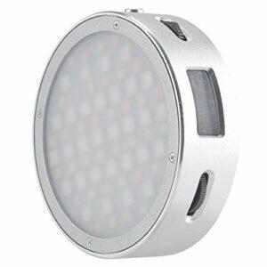 Godox R1 RGB LED Light Lampe 2500K-8500K 3 Modes de Lumière Coloré Bi-colore 39Fx effets de scènes avec Batterie au lithium 1800mA pour Tournage de Vidéo, Diffusion en Direct, Micro-Film, Prise de Vue