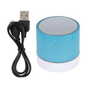 Haut-parleur Bluetooth sans fil portable, haut-parleur veilleuses avec lumière LED, mini haut-parleurs extérieurs avec chargement USB, appels mains libres, lecteur de musique