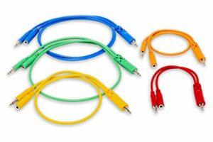 Hosa 3,5mm TS avec TSF Pigtail 3,5mm vers 3,5mm TS Marelle Câbles de raccordement. Various Lengths