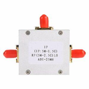 LANTRO JS – ADE-25MH High Linear Low Noise Passive Mixer Diode Double Balanced Mixer 5-2500MHz, High Linear Linear Low Noise, Module de mixage, Outil de conversion de fréquence HF