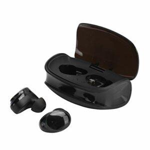 Limouyin Écouteurs Bluetooth 5.0, écouteurs Sport Intra-Auriculaires Stéréo HiFi avec Réduction du Bruit sans Fil avec Micro, Casque étanche à Commande Tactile avec étui de Chargement sans Fil