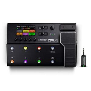 Line 6 POD GO Wireless Pedal Multiefectos Para Guitarra Con Transmisor G10TII