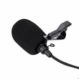 Microphone à Revers Microphone Lavalier Multifonction Plug-and-Use Clip-on Design SJ6 pour Sjcam