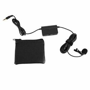 Microphone Lavalier Clip universel sur la collecte du son du micro avec des matériaux haut de gamme pour téléphones intelligents/interviews