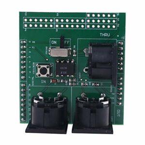 MIDI Shield Adaptateur d'interface numérique pour instrument de musique