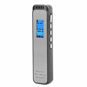 Mini enregistreur audio Enregistreur audio portable haute définition, prend en charge l'enregistrement de contrôle vocal