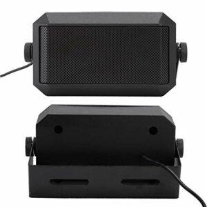 minifinker Haut-Parleur de Voiture CCar Radio Haut-Parleur Externe Facile à Utiliser, pour Voiture, pour FT1907/ICOM IC2720H