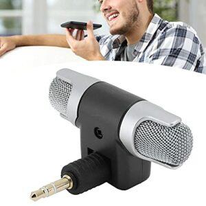 minifinker Microphone sans Fil Prises directes Mini Microphone pour réunion et Autres activités de Plein air(4 Poles)