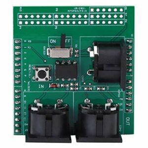 Module de test Standard carte adaptateur MIDI matériel PCB commutateur RUN/PGM pour l'usine pour le bureau pour l'industrie