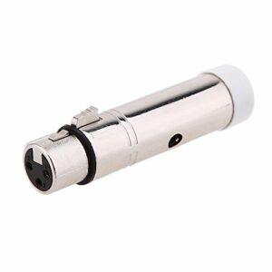 Mogzank Recepteur XLR femelle sans fil Controleur de signal sans fil pour la lumiere de scene, eclairage LED Controleur 2.4G ISM DMX512