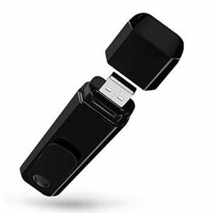 Rvciken Mini enregistreur de caméra 1080P Enregistreur de boucle portable HD, enregistrement vidéo vocal extérieur intérieur portable avec clip pour réunions d'affaires/classe