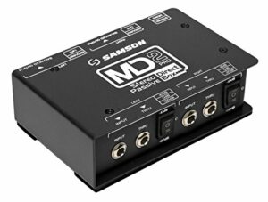 s-max md2pro – Stereo passive Direct Box – Processor