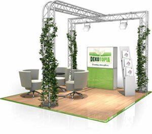 Stand de Foire FD 23-3 x 3 x 2,5 m (LxHxH) – 9 m²
