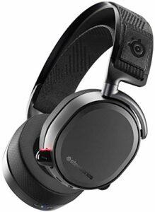 SteelSeries Arctis Pro Gamedac – Casque de jeu – Certifié Hi-RES Audio – ESS Saber DAC jianyou (Color : Black)