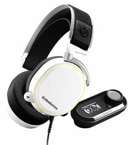 SteelSeries Arctis Pro Gamedac – Casque de jeu – Certifié Hi-RES Audio – ESS Saber DAC jianyou (Color : White)