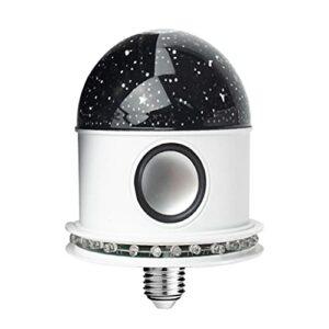 SunniMix Mini Disco Partie de Boule Lumières Bluetooth, gyrophares Sound Control LED Strobe Lumière La Maison Chambre Parties Enfants D'anniversaire de Danse – Ciel étoilé