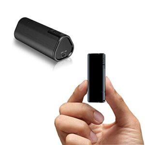 sZeao Mini Enregistreur,PortableDictaphone,Masquer l'enregistreur Un Bouton Enregistrer/Fonction d'Activation Vocale pour Les Cours, Les réunions et Les entretiens(16Go)