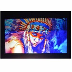 TWDYC Écran de projecteur 60 72 84 100 Écran de Projection de Tissu réfléchissant 120inch pour et utilisez-Le Rapidement sans Installation Professionnelle (Size : 72 inch)