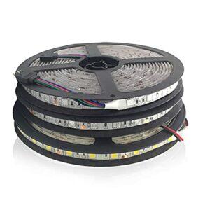 ZZSSC Bande LED DC 5050 24V RVB RGB White 24 V 5 mètres Étanche Étanche Stripe Flexible Stripe Flexible 60led / Mle Lampe Ruban TV Rétroéclairage TV(IP65 Waterproof,Warm White)