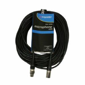 Accu Cable AC-XMXF/20 Câble microphone XLR/XLR 20 m