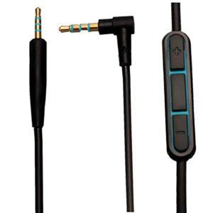 Câble audio de rechange de 2,5 à 3,5 mm pour casque Boses Quiet Comfort QC25 1,5 m