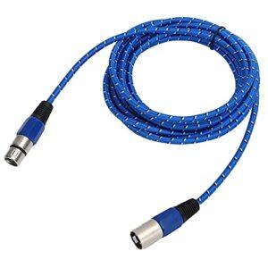 Câble XLR mâle à femelle, câble de microphone résistant à l'usure pour d'autres enregistrements professionnels