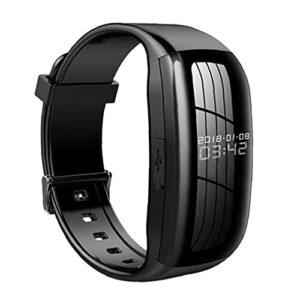 Caméra Audio Video Recorder vocal numérique 8G Wristband bruit appareil d'enregistrement puissant d'activation vocale Cancelling