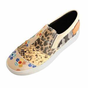 Dasongff Chaussures pour femme – En toile – Respirantes – Chaussures de marche légères – Chaussures de sport – Chaussures de loisirs – Beige – Kaki 1., 39 EU