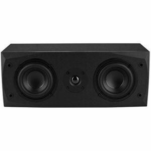 Dayton Audio MK442 Dual 4″ 2-Way Center Channel Speaker