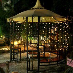Guirlande lumineuse LED pour jardin, étanche, décoration de Noël, Halloween, anniversaire, Noël, mariage, fête, jardin