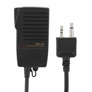 Haut-parleur Portable Micphone pour les Radios ICOM IC-V8 V82 V85 IC-T2H T8A 2AT E90 W32A
