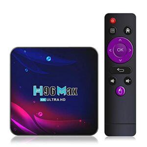 Jiudong Android TV Box-TV Box Android 11.0 4K HD TV Box Bluetooth 4.0 2021 Smart TV Box WiFi Google Voice Set Top Box TV Box
