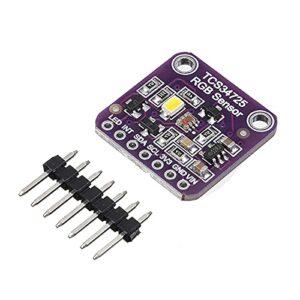 MINI TCS34725 Module de reconnaissance de la carte de détection de couleur de la couleur RGB à faible puissance de détection de couleur pour Arduino Color Breakout Détecteur Pièces Cinéma Sound Effect