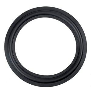 OverTop Kit de réparation pour haut-parleur en caoutchouc souple Noir 25,4 cm