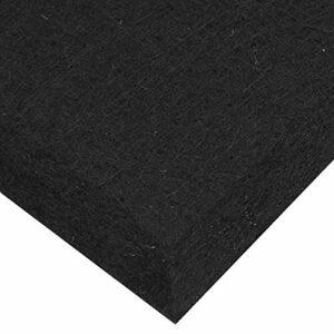 Panneau d'absorption acoustique Panneau d'absorption acoustique léger, pour les bureaux, pour les studios d'enregistrement(black)