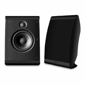 Polk Audio AM3345-A Lot de Deux Haute-parleurs au Mur Noir