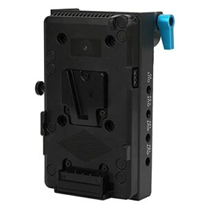 SHYEKYO Adaptateur de Plaque de Batterie virtuelle Robuste et Durable, avec Pince à Tige à Double Trou de 15 mm, pour Sony A9 A7RM3 A7M3
