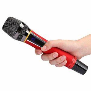 Surebuy Microphone à Main à poignée MC-02 Microphone Heavy Bass, pour Wechat Business, pour conférences