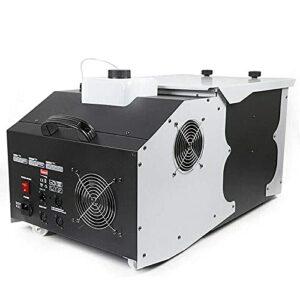 ZXCASD 3000W DMX Machine À Brouillard Vertical, Machine À Fumée Réservoir 2 Litrespour Scène De Mariage Disco DJ Bar Party Spray Jusqu'à 5M