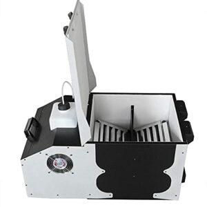 ZXCASD Machine À Fumée Lourde Brouillard Fumigène 3000 W avec Télécommande Et Réservoir 2.5L, Préchauffage en 5 Minutes pour Mariage, Fête, Théâtre