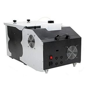 ZXCASD Machine À Fumée Puissance De 3000 W Et 2000CFM avec Télécommandes sans Fil, Parfait pour Mariage, Mariage Les Bars Et Les Théâtrales