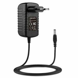 9 V 2 A Chargeur adaptateur AC/DC est utilisé dans les claviers pour piano et effets pour guitare, compatibles avec Korg KorRS KROS-61 KROS-88 KA350 MICROKORG XL + MS20mini câble d'alimentation